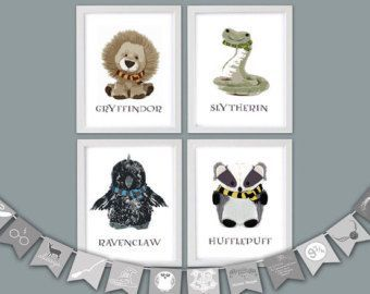Harry Potter Nursery Etsy Crafty Stuff Harry Potter
