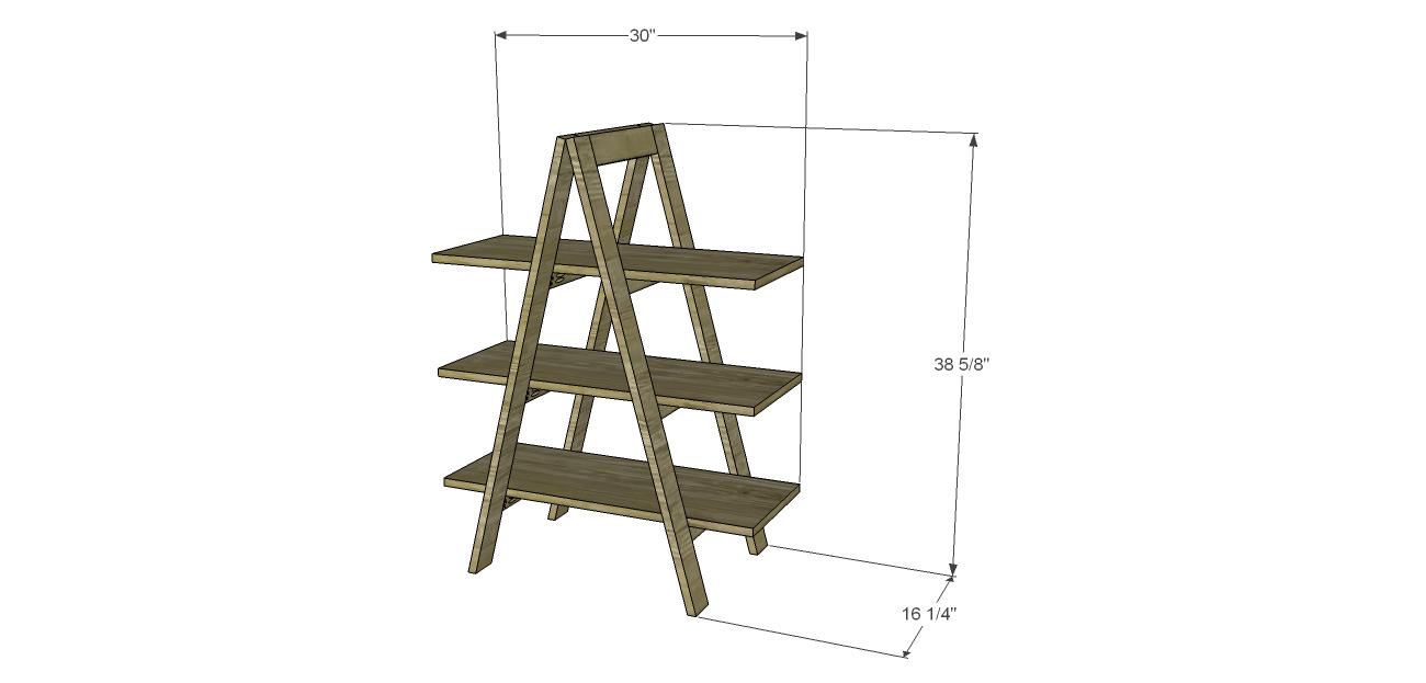Build A Ladder Bookshelf A Frame Bookshelf Bookshelves Diy Ladder Bookshelf