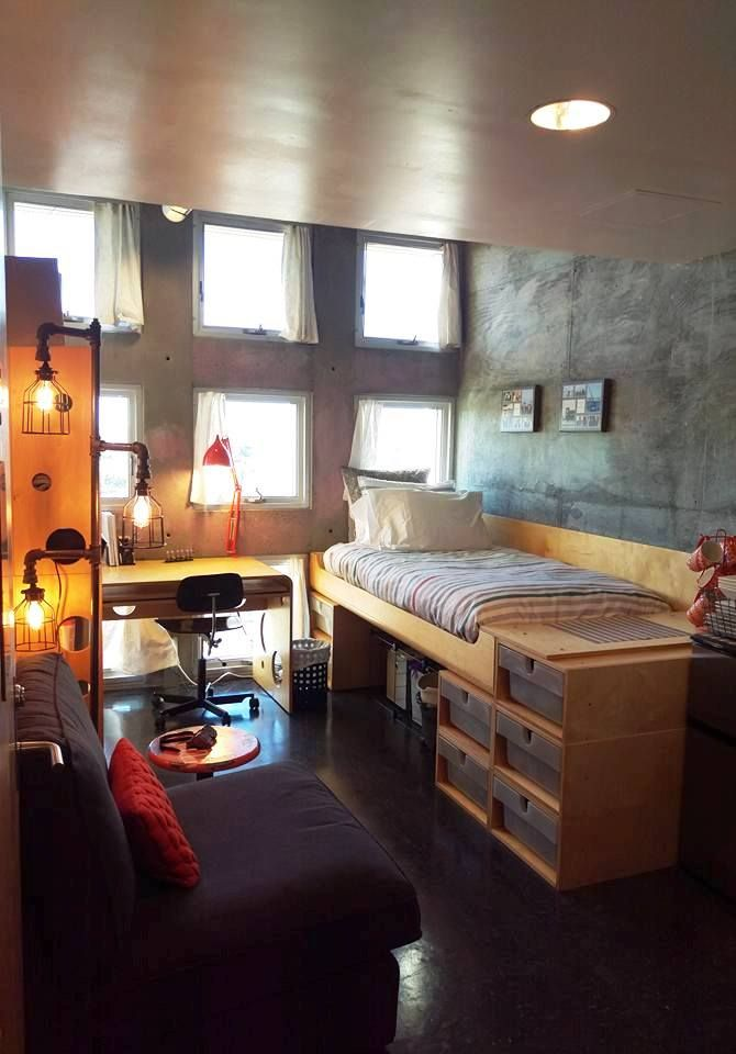 Simmons Hall, MIT, Single Dorm Room  College dorms  ~ 114216_Dorm Room Ideas Single
