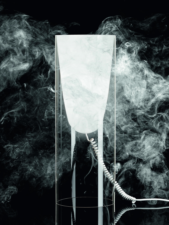 Black   Toobe by Ferruccio Laviani   Mysterious light
