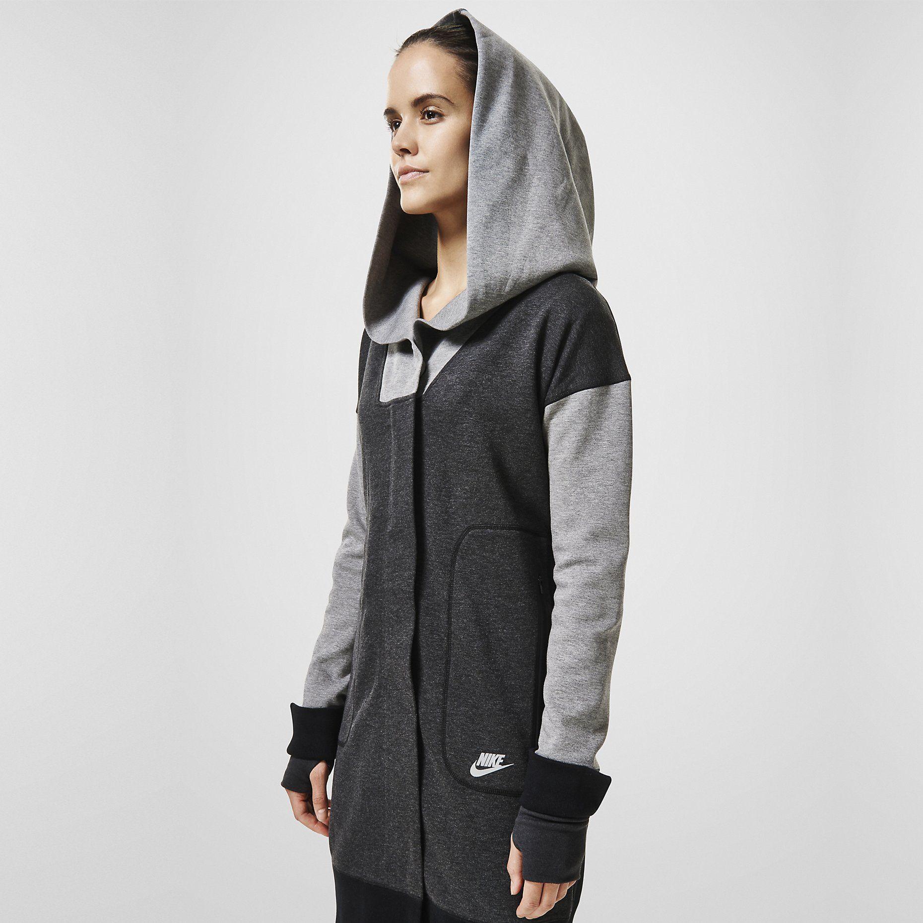 Nike Tech Fleece Cocoon Women's Jacket. Nike Store Nike