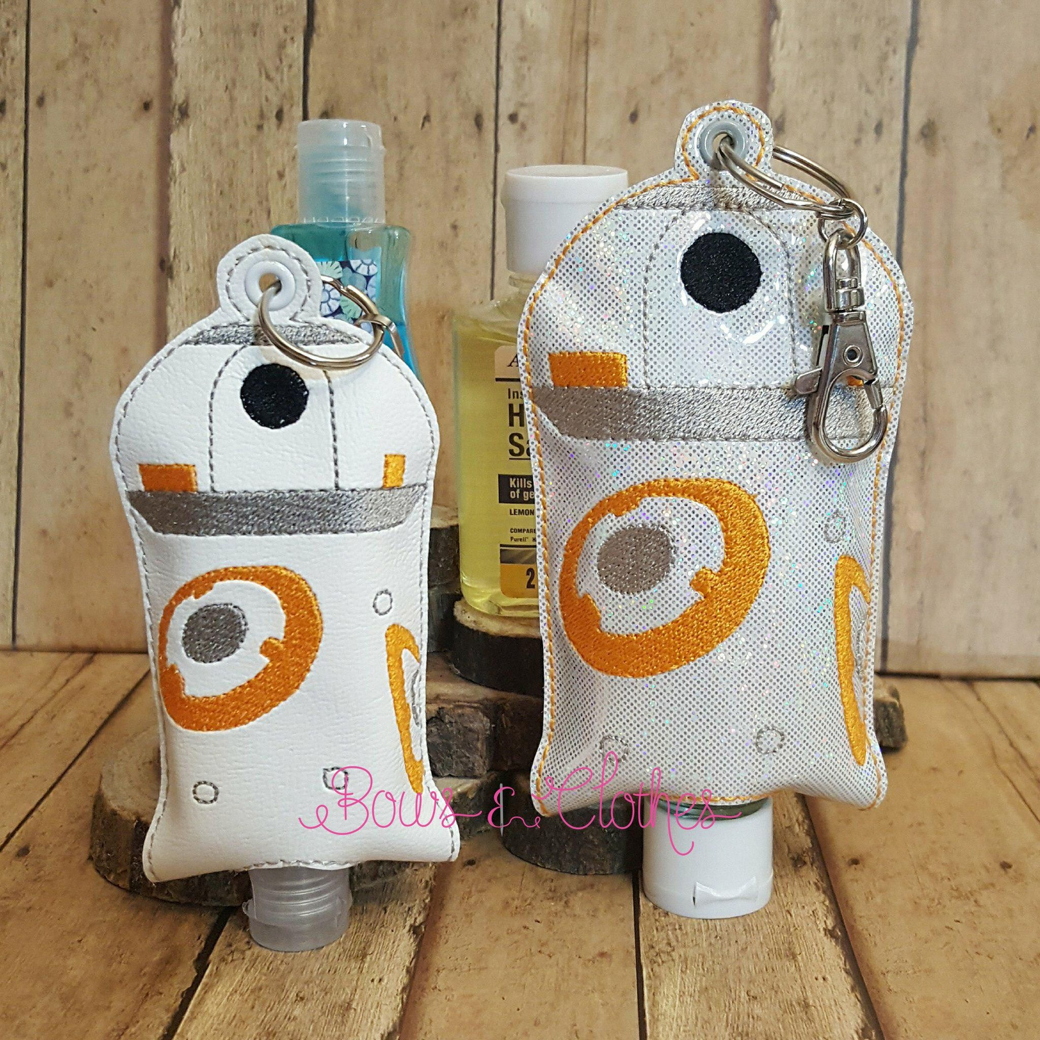 Space B Robot Open Tab Hand Sanitizer Machine Embroidery Designs