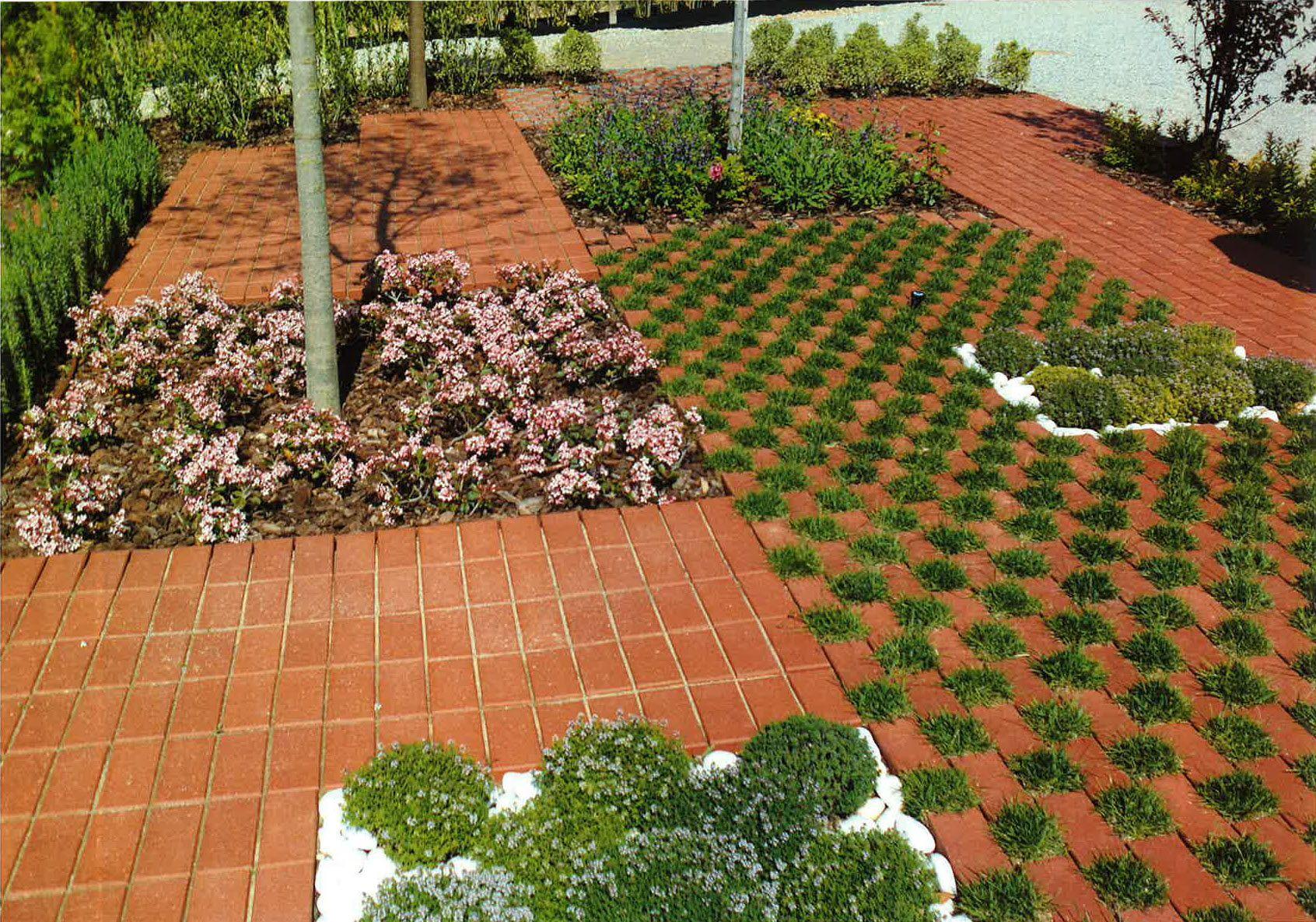 Flexbrick tejido cer mico ceramic textiles tissu c ramique teixit cer mic pavimento drenante - Pavimento jardin ...