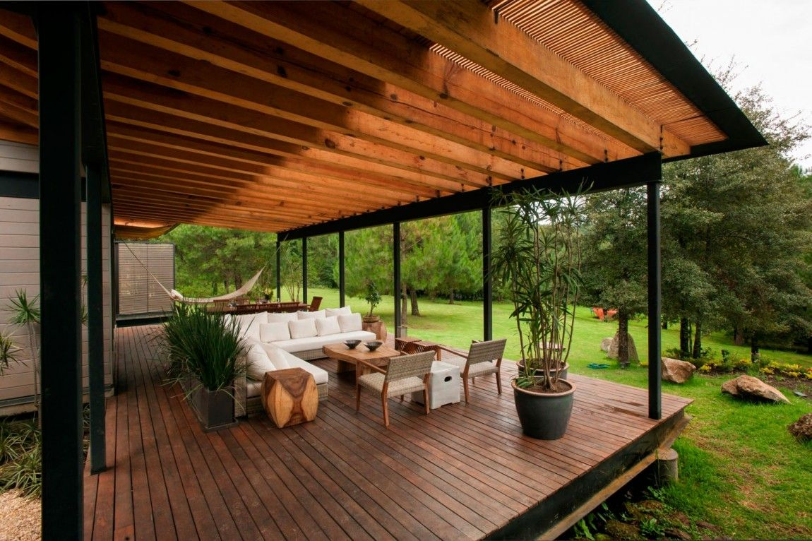 Captivating Fantastic Outdoor Seating Area And Perfectly Covered For Drizzly Days