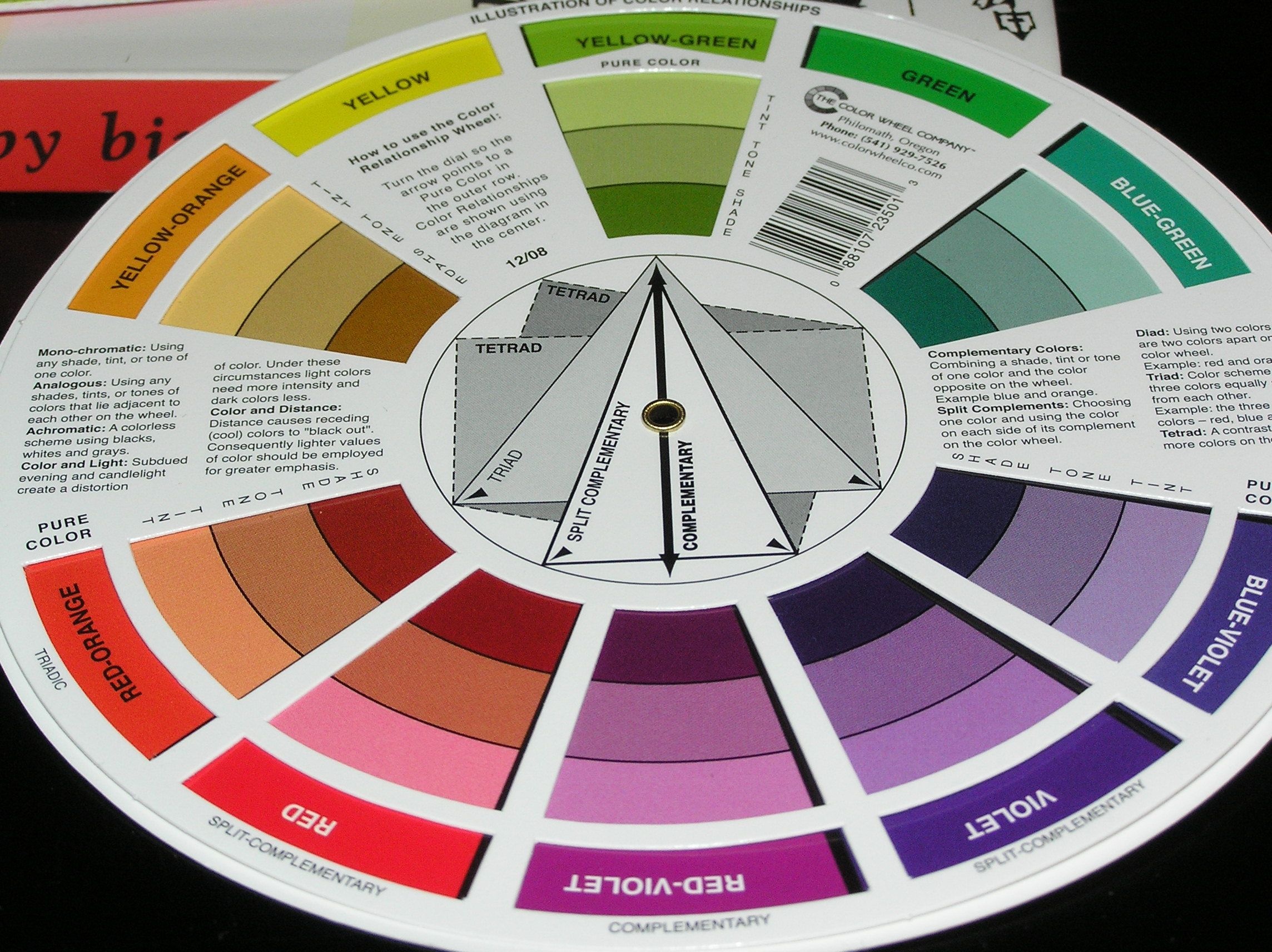 Color Wheel Scheme Hd Wallpapers