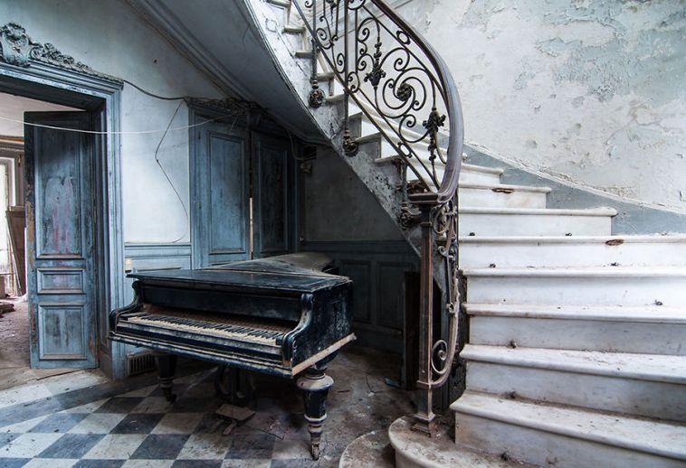 Photographer Travels Thousands Of Miles To Document Europe's Most Abandoned Places