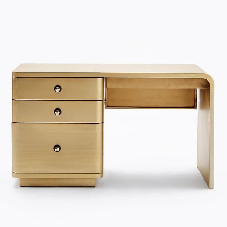 West Elm Chrysler Desk   Living Room   Pinterest   Desks, Tables and ...