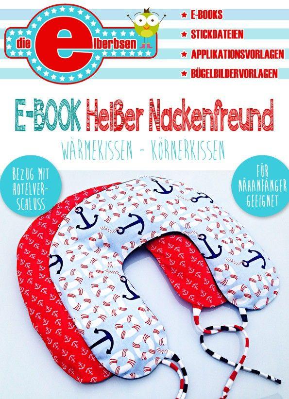 E Book Nackenhornchen Warmekissen Kornerkissen Warmekissen