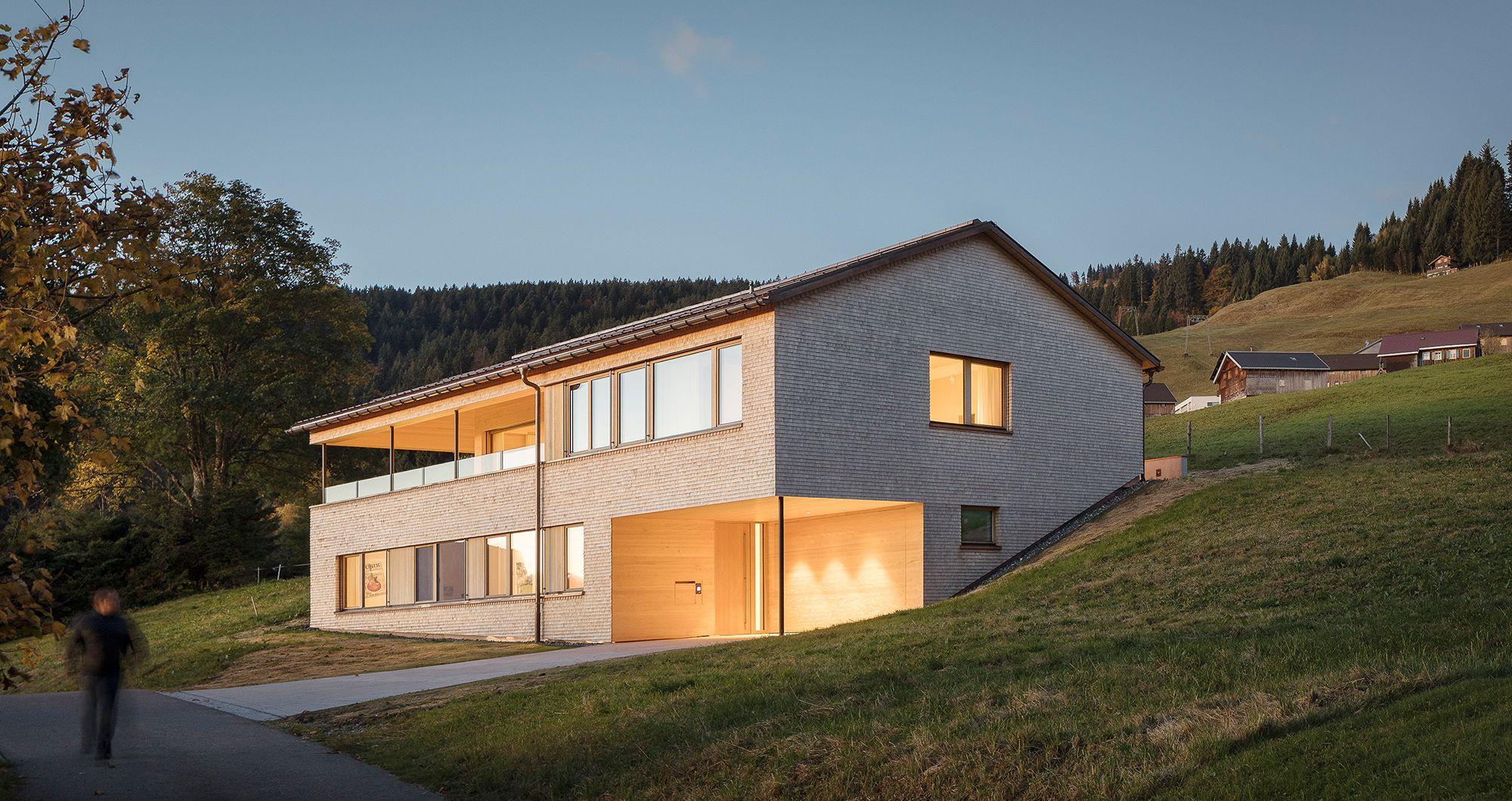Jurgen Haller Projekte Haus Architektur Architektur Haus Haus Bauen