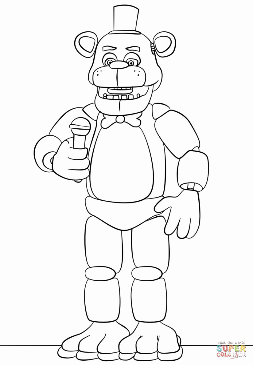 Pin By Magda On Fnaf Fnaf Coloring Pages Coloring Pages Coloring Books