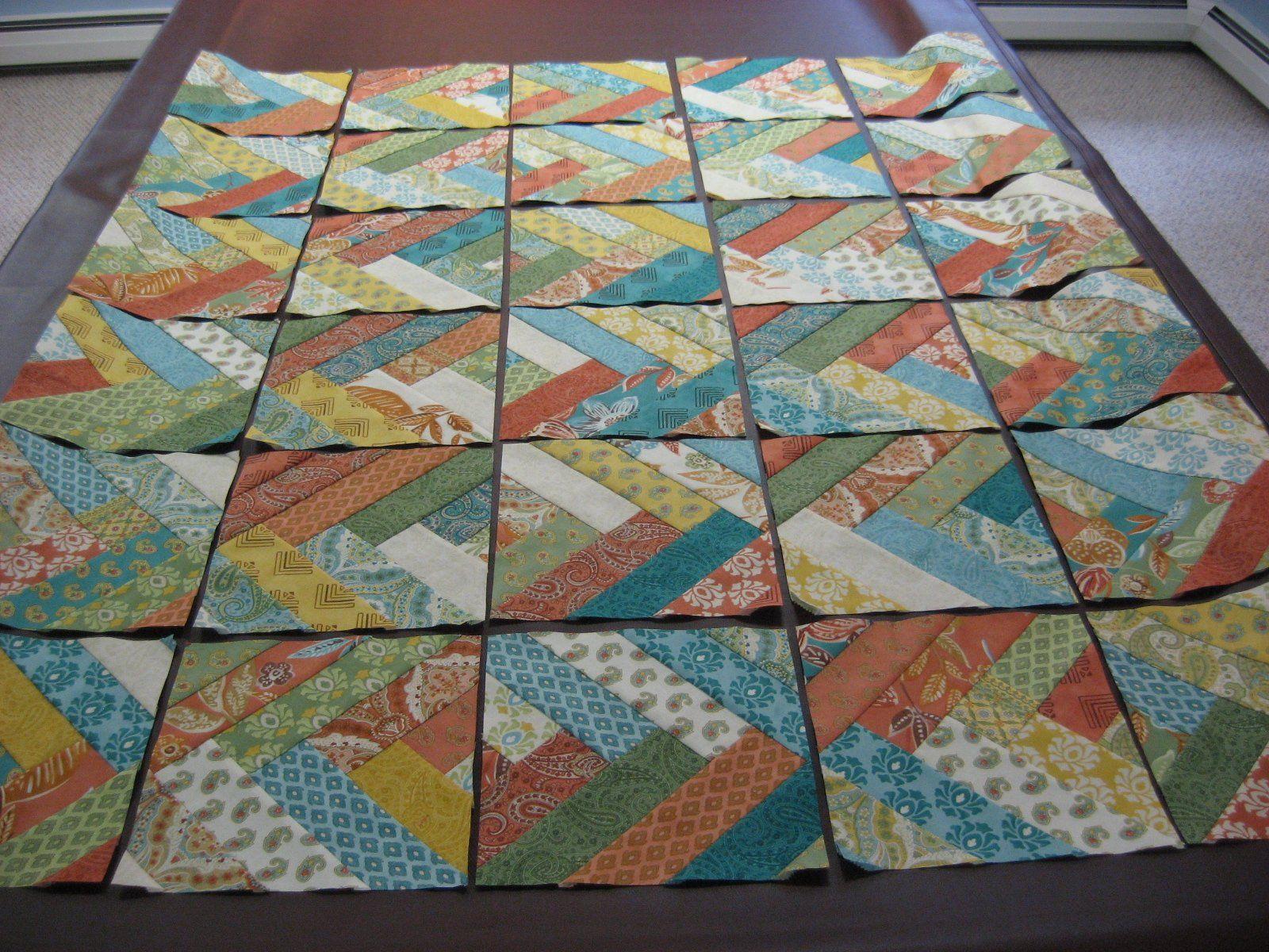 Friendship Braid Quilt Jelly Roll Strip Quilt Tutorial