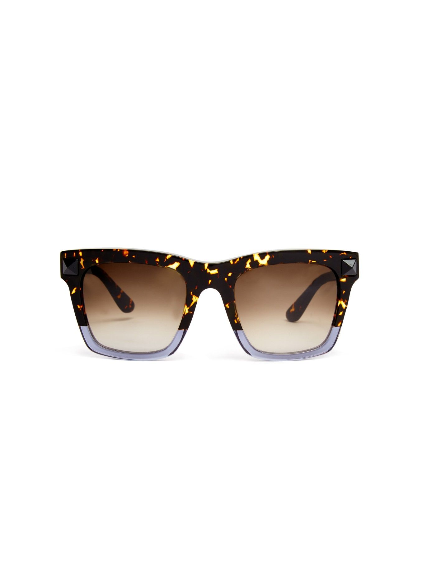 ef85a334f5e Square-framed tortoiseshell sunglasses