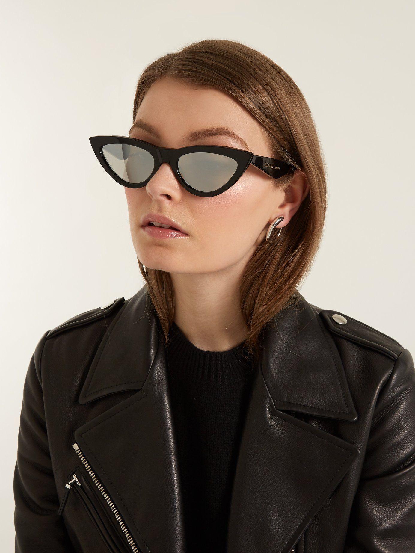 aa9acd256701 Cat-eye acetate sunglasses