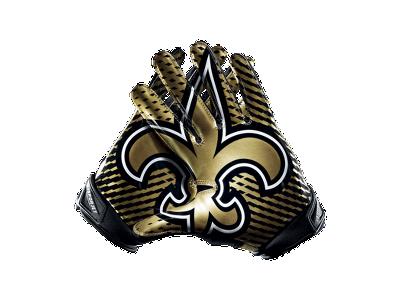 Nike Vapor Jet 2.0 (NFL Saints) Men s Football Gloves -  100.00 ... f4796441b2c