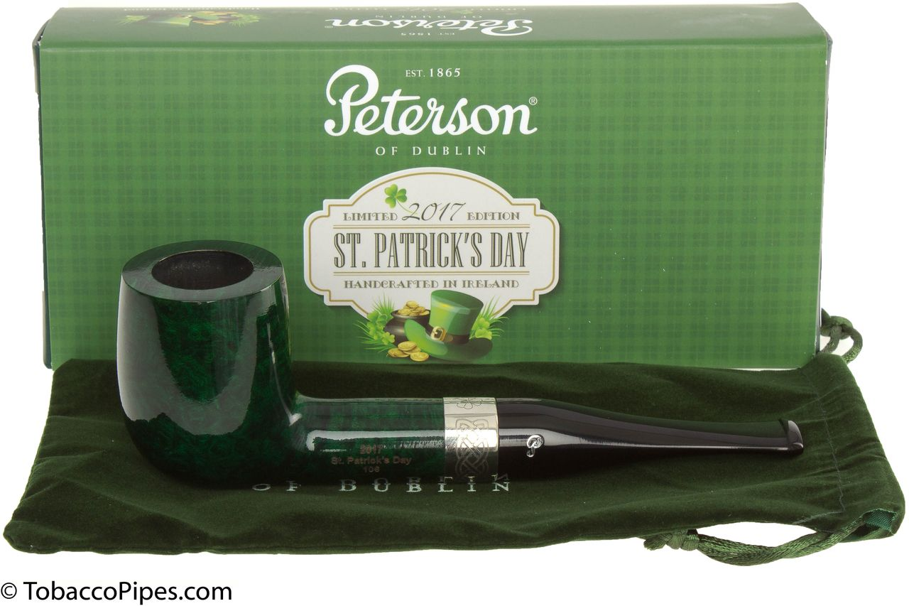 TobaccoPipes.com - Peterson St. Patrick's Day 106 2017 Tobacco Pipe, $108.00 (https://www.tobaccopipes.com/peterson-st-patricks-day-106-2017-tobacco-pipe/)