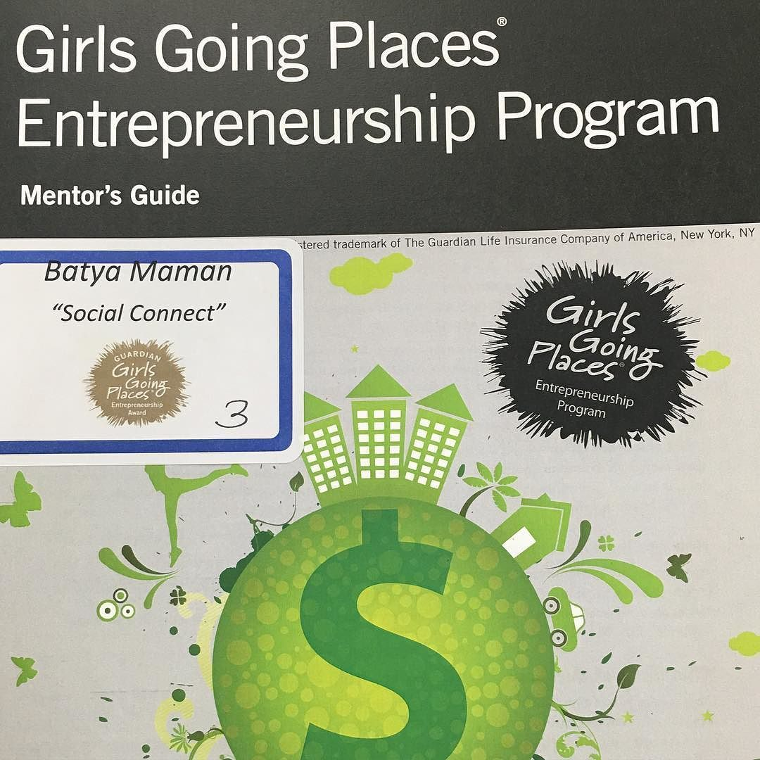 Girls Going Places Entrepreneurship Program 2016
