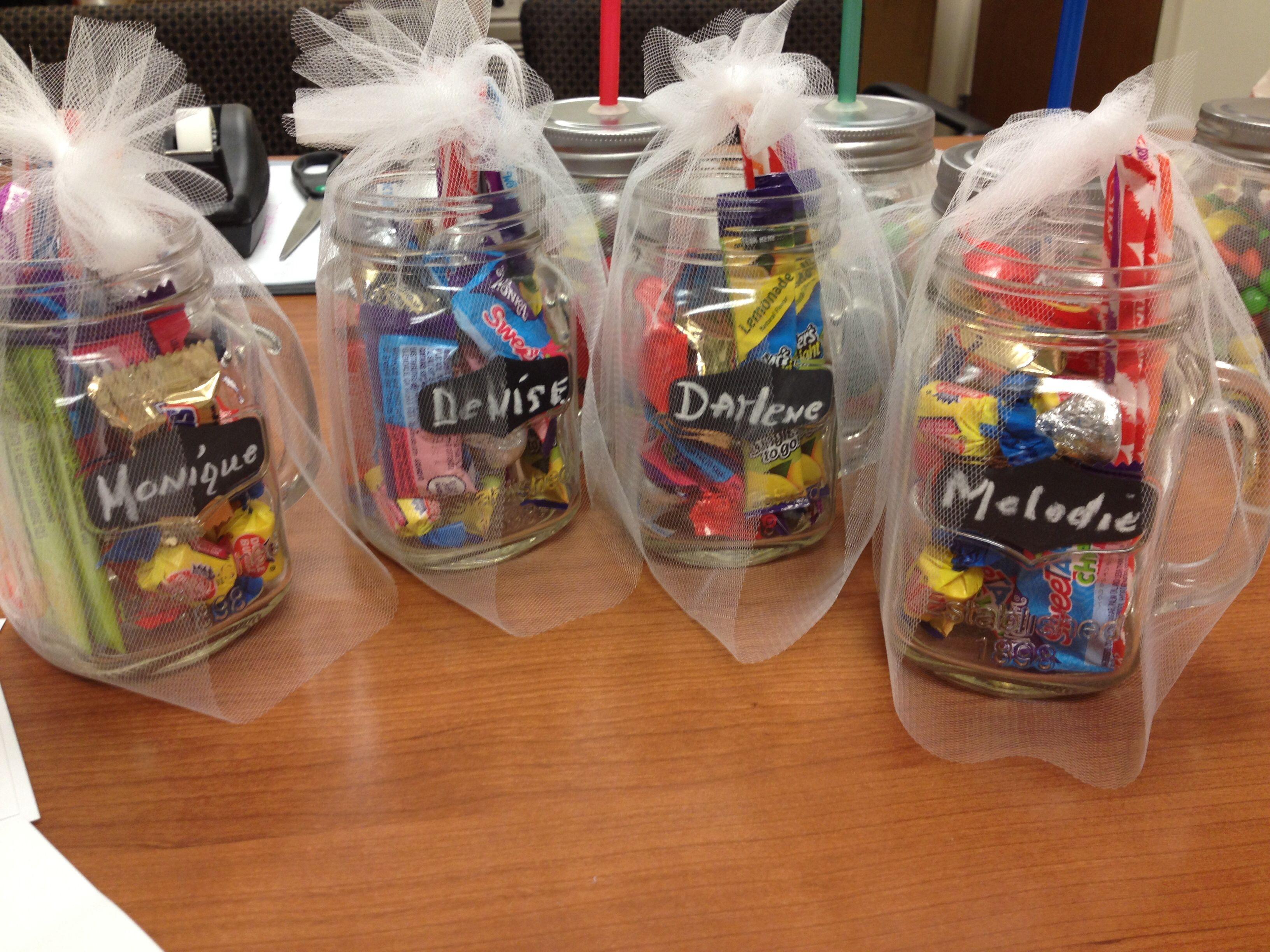Jar of Yummy Fun! Great mason jar gift idea. I made these for my ...