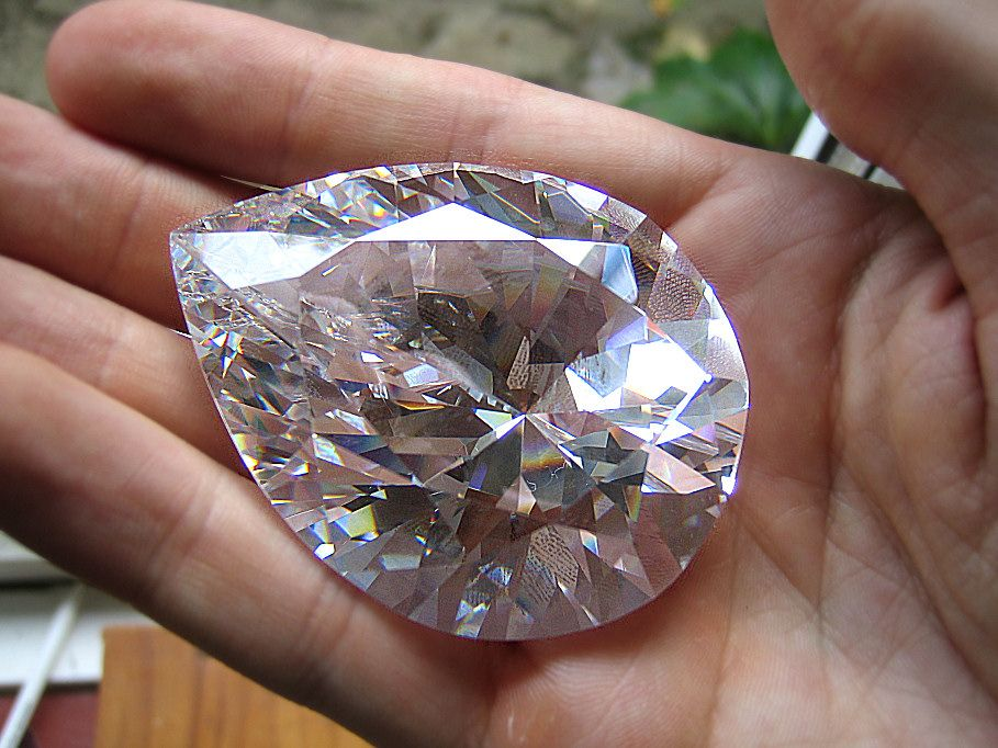 The Cullinan the second largest Diamond on the world and is part of the royal jewels in London