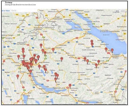 ZeeMaps ist ein browserbasierter Mapping Service, mit dem man interaktive Karten erstellen, veröffentlichen und teilen kann. ZeeMaps sind Mashups, man generiert neue Medieninhalte durch Re-Kombinieren bereits bestehender Inhalte, hier mit Google Maps.