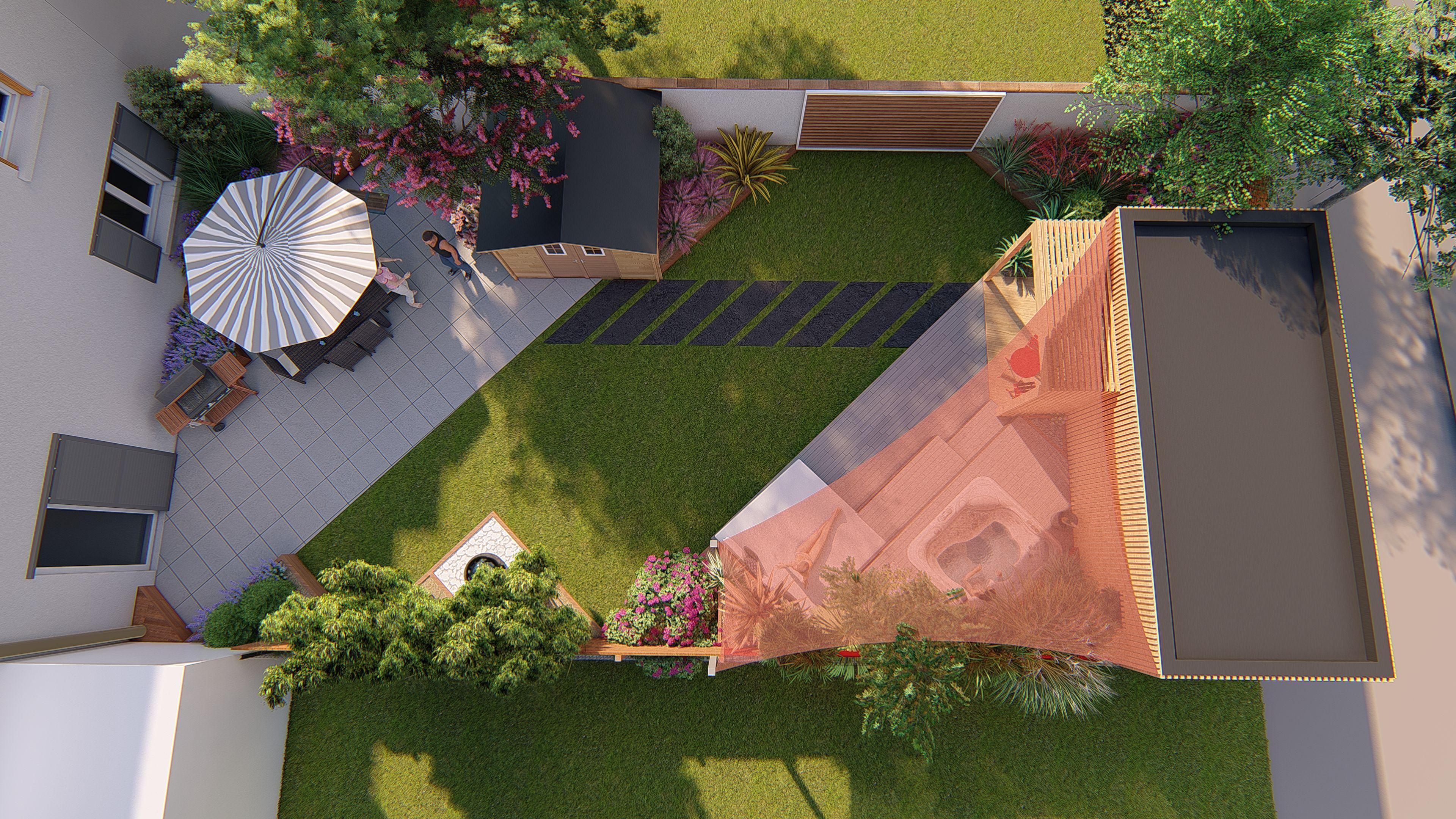 Pin by bureau d étude jardin kael on projet de studio sur blagnac