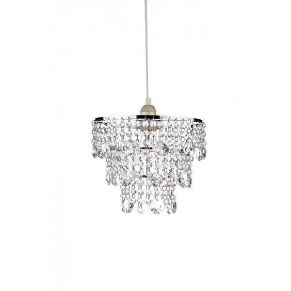 Small Bathroom Chandeliers small easy to fit crystal chandelier, non electric, cascading