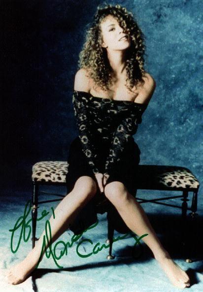 Mariah Carey Young Autographed Photo Mariah Carey