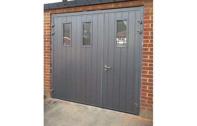 High Quality Side Hinged Garage Doors   Design A Door Online   The Garage Door Company    Garage Conversion   Pinterest   Side Hinged Garage Doors, Garage Doors And  ...