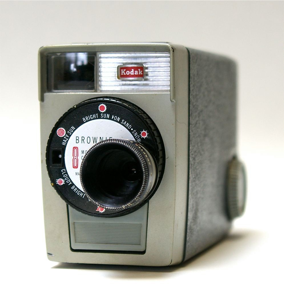 Vintage Movie Camera Wallpaper Kodak Brownie Mm