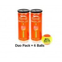 Slazenger Solo Duo Pack 6 Stk. Tennisbälle