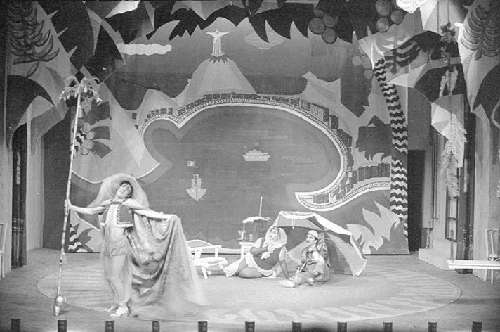 SP Escola de Teatro - A Ruptura do Teatro Moderno
