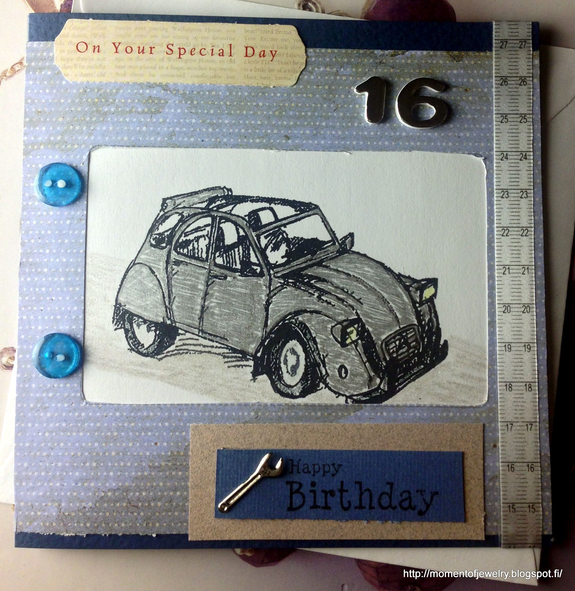 Birthday Card To 16 Years Old Boy