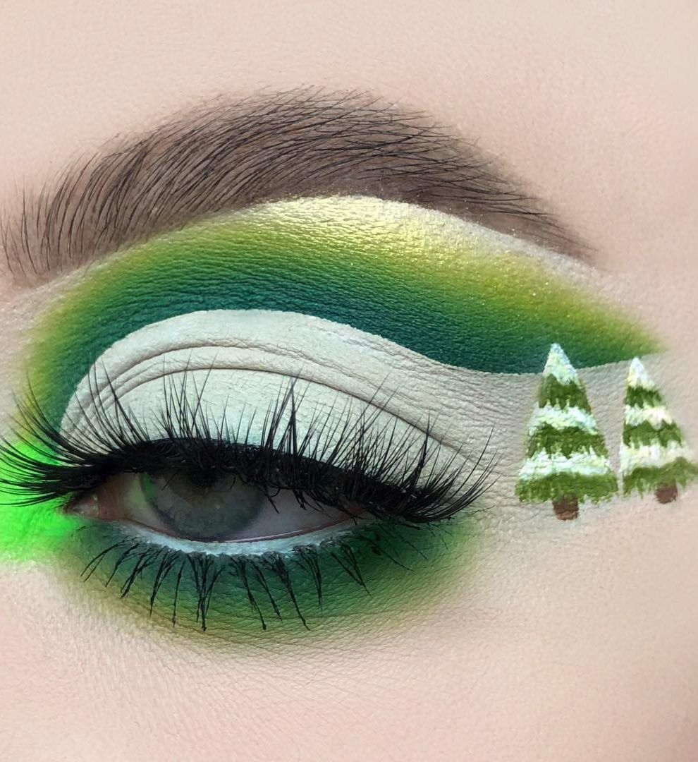 Fast makeup for the Christmas party! How To, New 2019 , Page