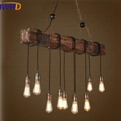 Iwhd industrial vintage loft style led pendant lights american retro iwhd industrial vintage loft style led pendant lights american retro pendant lamp rh wooden droplight fixtures aloadofball Gallery