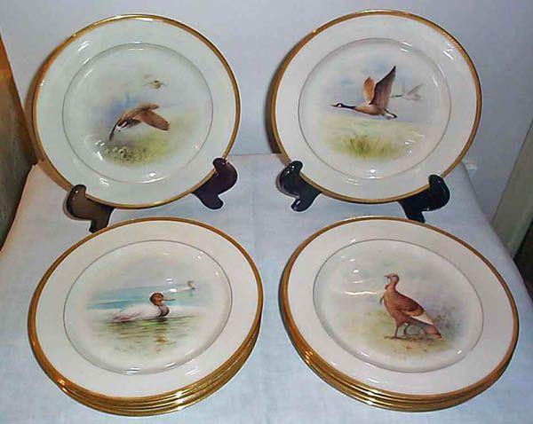 Antique China Companies Plates Lenox Plates Decorative Plates