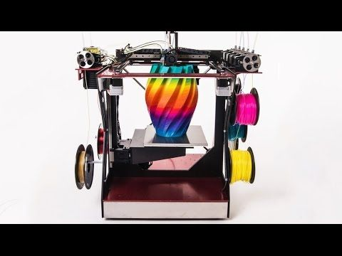 bd4a62a71b2 5 Awesome 3D Printers - YouTube