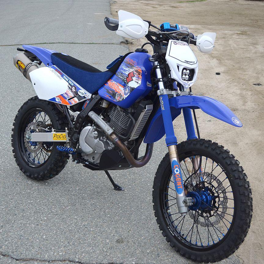 Suzuki DR650 | 650 dualsport | Enduro motorcycle, Bike