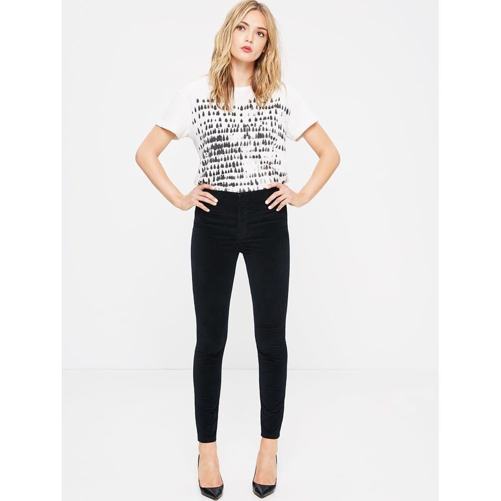 High waist seamless looker womens high rise jeans