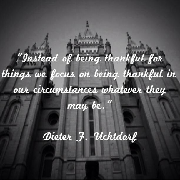 Dieter F. Uchtdorf. www.TheCulturalHall.com #ldsconf 2014 #quotes #gratitude