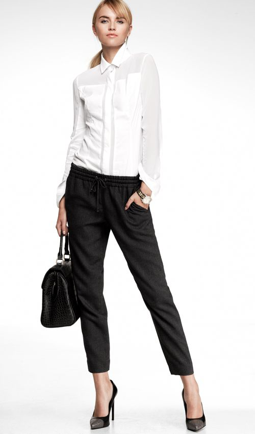 The Track Pant: cute for work