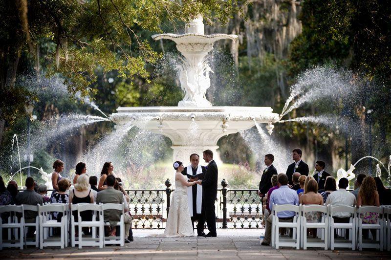 Savannah Wedding Forsyth Park
