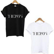 The 1975 Hipster Women Sexy t shirt Summer Style Casual t-shirt Sport tops tee