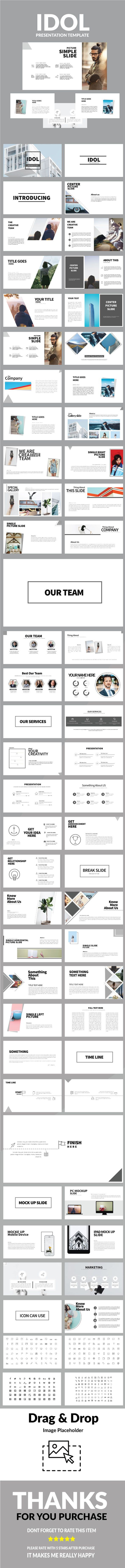 Idol Multipurpose Powerpoint (PowerPoint Templates) | Pinterest ...