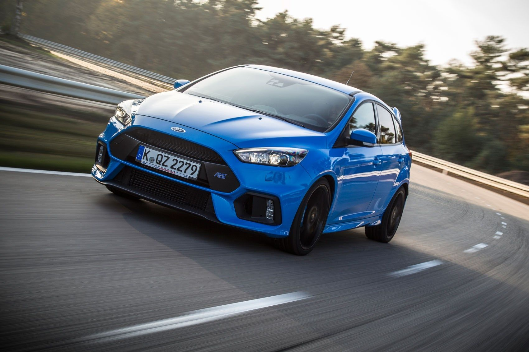 Ford Focus Rs 2016 First Ride Review Historia Del Automovil