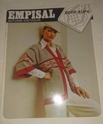 Knitting Machine Pattern Book Aup6 Empisal Autumn Knitwear