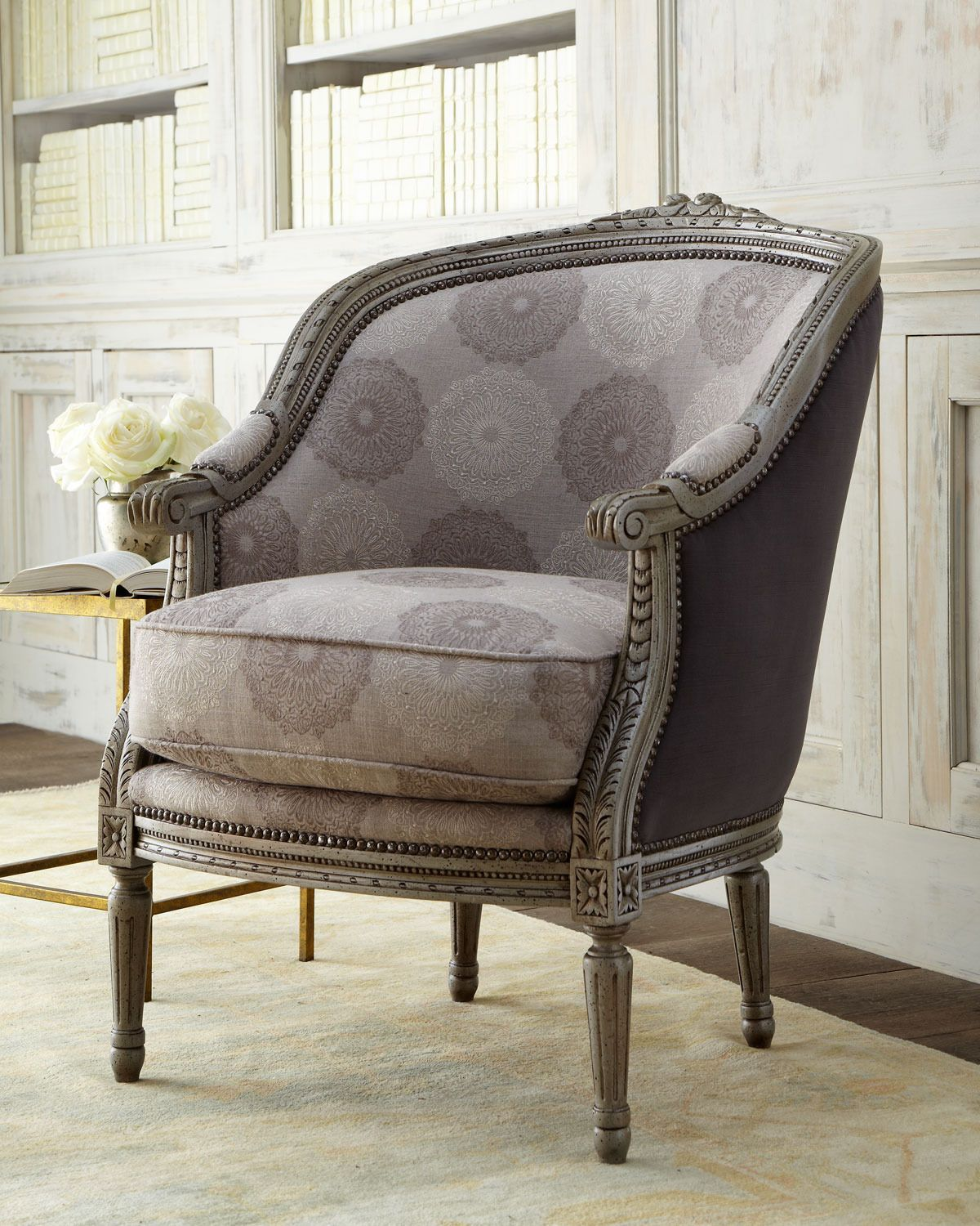Gibson Chair - Massoud Furniture (Have a Seat Chair / ottoman Wood ...