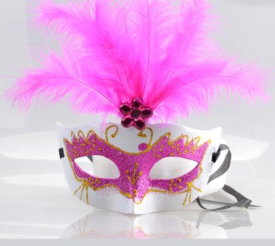021323 The plum flower adult half face masks female the masquerade - sexy halloween decorations