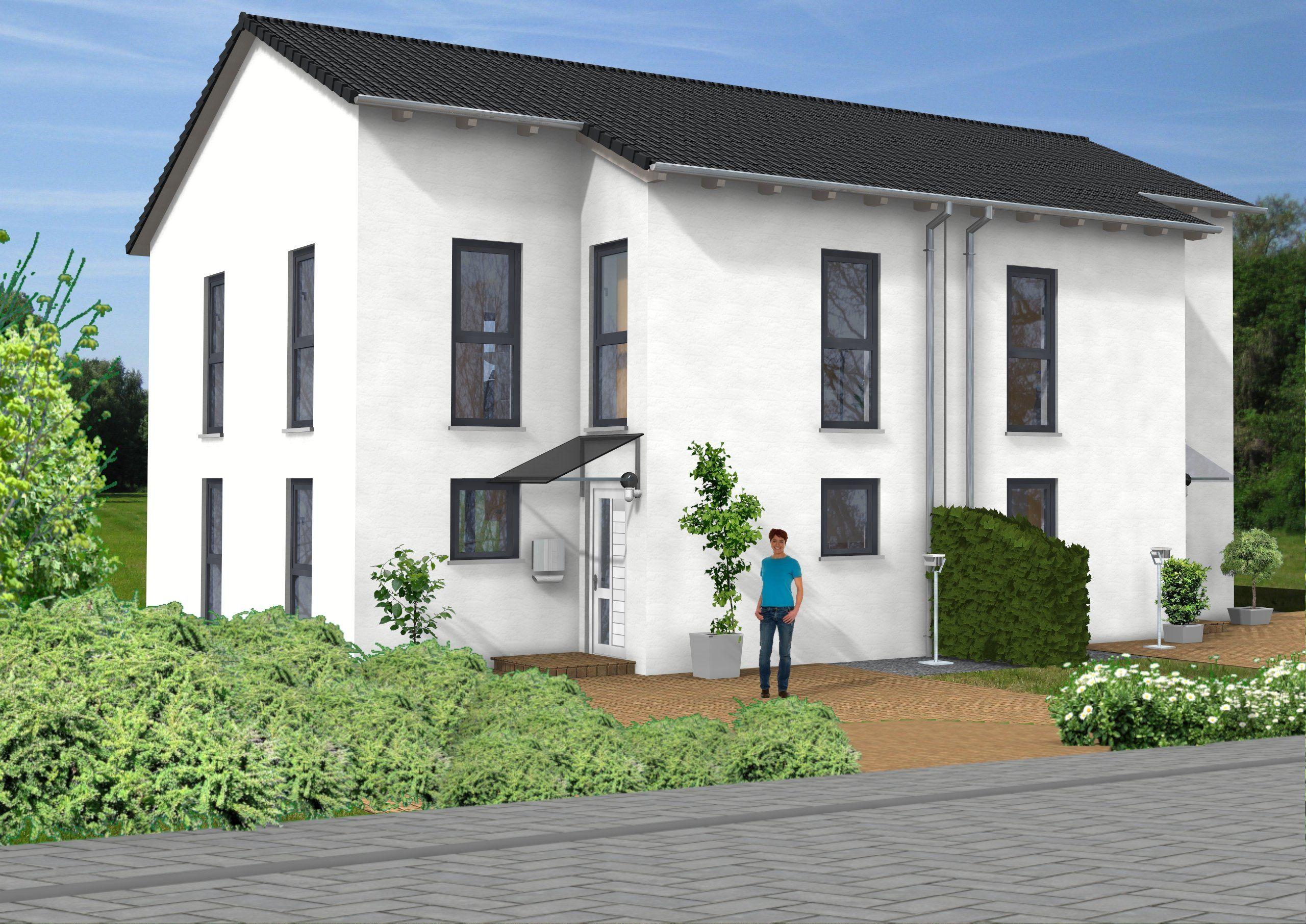 Haus Idee Doppelhaushälfte mit einer Wohnfläche von ca. 111 m²