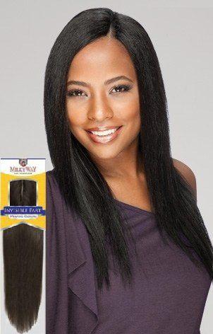 Milkyway 100 Human Hair Invisible Part Weaving Closure 10 Inch 1b Off Black By U Straight Hair Bundles Beauty Hair Extensions Brazilian Straight Human Hair