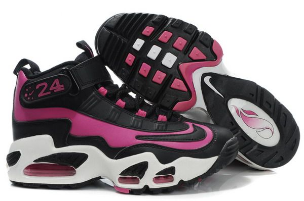 59f8e62273 Women's Nike Ken Griffey Jr Shoes Black Pink | Products I love ...