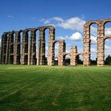 Acueducto de los milagros, Mérida, Extremadura ~ Spain